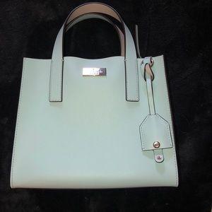 Kate spade purse removable adjustable strap blue